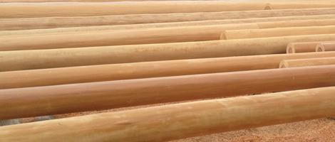 足達木材の 「丸太のオーダーメード」事業